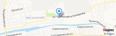 Пивмаг на карте Астрахани