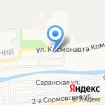 Волна Любви на карте Астрахани