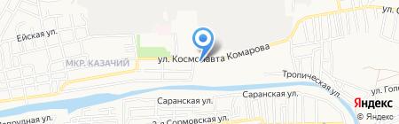 Народная аптека на карте Астрахани