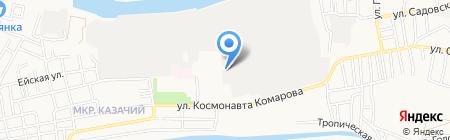 Астра-Поволжье на карте Астрахани
