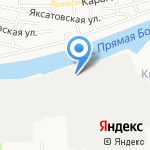 КИМ на карте Астрахани