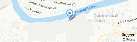 Климат-Проф-Астрахань на карте Астрахани