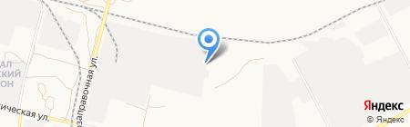 КИС на карте Астрахани