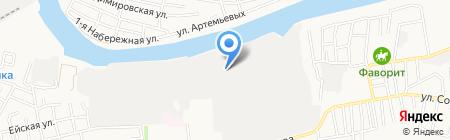 ПластиКон на карте Астрахани