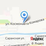 Кондитерский магазин на карте Астрахани