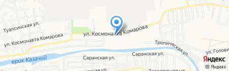Первая полоса на карте Астрахани