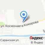 Стрелец 2001 на карте Астрахани