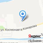 Каспий-Авто на карте Астрахани