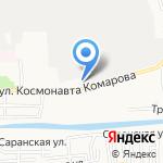 МЕРУС Групп на карте Астрахани