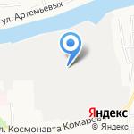 Техгаз на карте Астрахани