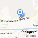 Район на карте Астрахани