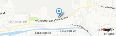 Ирина на карте Астрахани