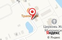 Схема проезда до компании Почтовое отделение в Ежово