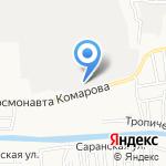 Альбатрос на карте Астрахани