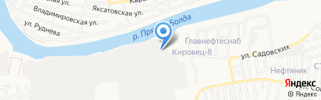 ЭРА радио на карте Астрахани