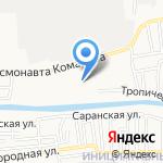 Средняя общеобразовательная школа №39 с дошкольным отделением на карте Астрахани