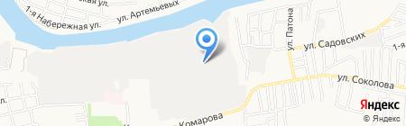 КровМонтажСтрой на карте Астрахани