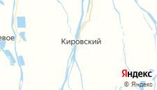 Гостиницы города Кировский на карте