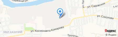 Сетка+ на карте Астрахани