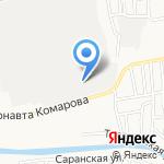 БАСЕН+ на карте Астрахани