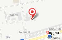 Схема проезда до компании Вектор-АК в Астрахани