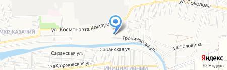 Средняя общеобразовательная школа №39 на карте Астрахани