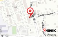 Схема проезда до компании Астраханская экологическая компания в Астрахани