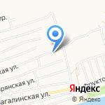 Март на карте Астрахани