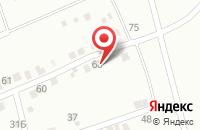 Схема проезда до компании Март в Астрахани
