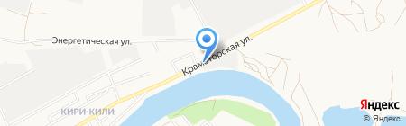 Новостройка на карте Астрахани