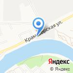 SV АВТО на карте Астрахани