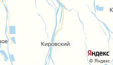 Гостиницы города Караульное на карте