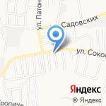 ТФ Кедр-2000 на карте Астрахани