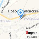 Универсальный на карте Астрахани