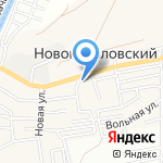 Заводи-Поехали на карте Астрахани