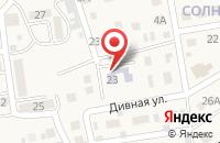 Схема проезда до компании Цветочек в Новоначаловском