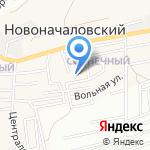 Цветочек на карте Астрахани