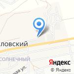 Стройдвор на карте Астрахани