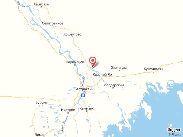 село Вятское на карте