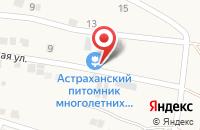 Схема проезда до компании Астраханский питомник многолетних цветов и декоративных кустарников в Астрахани