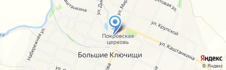 Опорный пункт полиции на карте Больших Ключищ