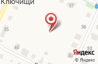 Схема проезда до компании ПОХОРОННОЕ АГЕНТСТВО ЖУКОВ в Больших Ключищах