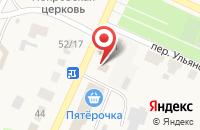 Схема проезда до компании Поволжский банк Сбербанка России в Больших Ключищах