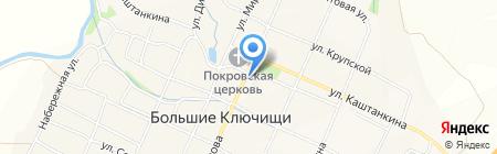 Симбирская птица на карте Больших Ключищ