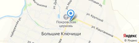 Почтовое отделение на карте Больших Ключищ