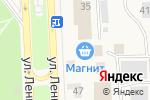Схема проезда до компании Магнит в Ишеевке