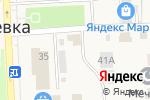 Схема проезда до компании Киоск по продаже фруктов и овощей в Ишеевке