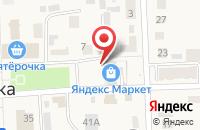 Схема проезда до компании Поволжский банк Сбербанка России в Ишеевке