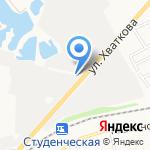 АГЗС на карте Ульяновска