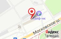 Схема проезда до компании Ульяновское время в Ульяновске
